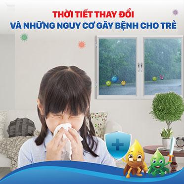 nhiễm khuẩn hô hấp ở trẻ em